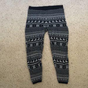 Mossimo Fair-isle Sweater Pajama Bottoms - L